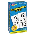 Trend Enterprises® in.Subtraction 0-12in. Skill Drill Flash Card, Grade 1-2