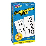 "Trend Enterprises® ""Subtraction 0-12"" Skill Drill Flash Card, Grade 1-2"