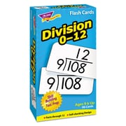 "Trend Enterprises® ""Division 0-12"" Skill Drill Flash Card, Grade 4-5"