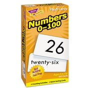 Trend Enterprises® Numbers 0-100 Skill Drill Flash Card, Grade Prek-2