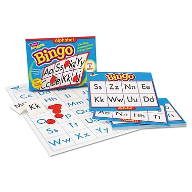 Trend Enterprises® Alphabet Bingo Game, Grade Prek-2