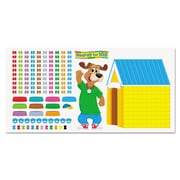"Trend Enterprises® ""100th Day Happy Hound"" Bulletin Board Set, Grade Prek-2"