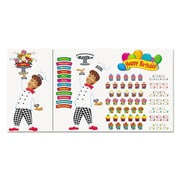 "Trend Enterprises® ""Happy Birthday Bake Shop"" Bulletin Board Set, Grade Prek-3"