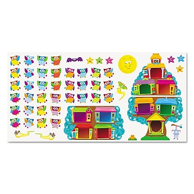 Trend Enterprises® Owl-Stars!® in.Job Chartin. Bulletin Board Set, Grade Prek-5