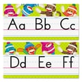 Trend Enterprises® Sock Monkeys in.Alphabet Line Standard Manuscriptin. Bulletin Board Set, Grade PreK-4