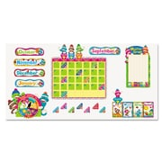 "Trend Enterprises® Sock Monkeys ""Calendar"" Bulletin Board Set, Grade Prek-6"
