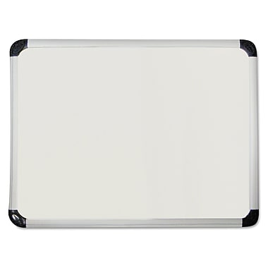 Universal One™ 36in.(W) x 24in.(H) Porcelain Magnetic Dry Erase Board, Aluminum Frame