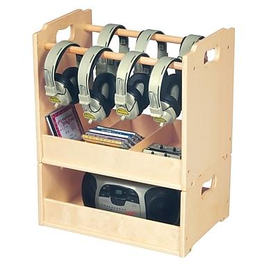 Stacking Audio Storage Units