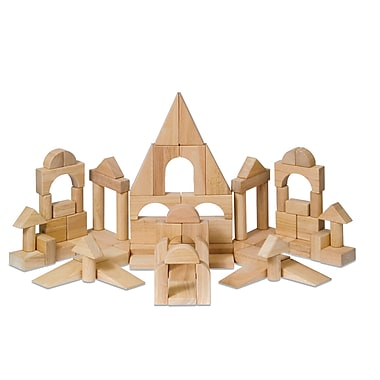 Guidecraft 76pc. Hardwood Deluxe Block Set
