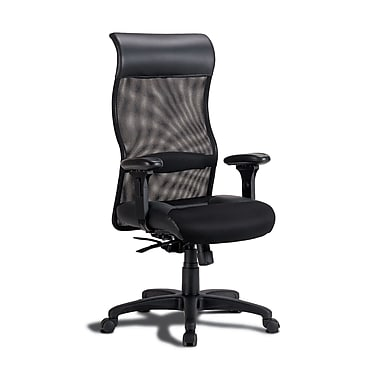 Coaster® Contemporary Mesh Executive Chair, Black