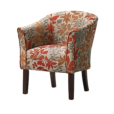 COASTER Accent Seating Fabric Barrel Accent Chair, Multi (460407)