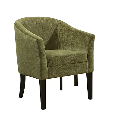 COASTER Accent Seating Microvelvet Accent Chair, Pistachio (902042)