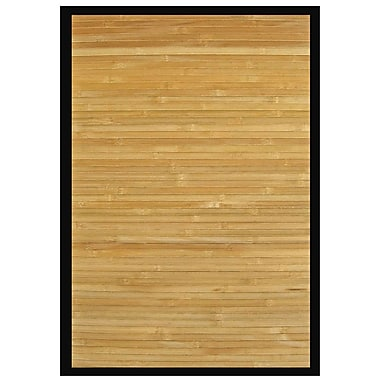 Anji Mountain Area Rug Bamboo 5' X 8' Contemporary Chocolate
