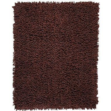 Donny Osmond Home Silky Shag Coffee Bean Rug 8'x10'
