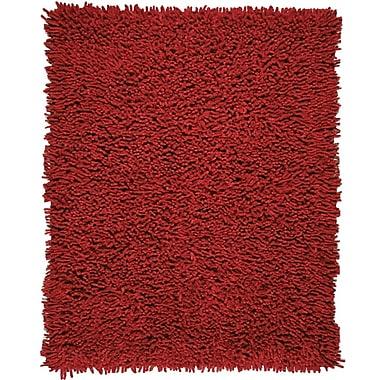 Anji Mountain Crimson Rug Silky Shag 5
