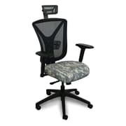 Marvel® Fermata® Fabric High-Back Executive Chair With Adjustable Arms & Headrest, ACU Digital Camo