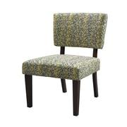 Linon Taylor Geometric Fabric Accent Chair, Mosaic