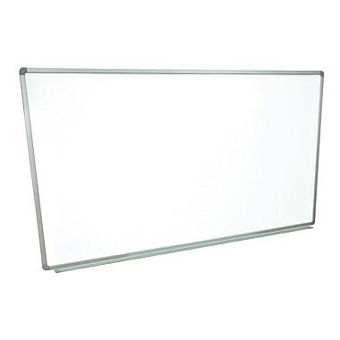 luxor72 x 40 steel wall mounted whiteboard aluminum frame