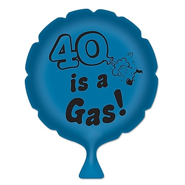 « 40 Is A Gas! » Coussin de farces et attrapes, 8 po, 4/paquet