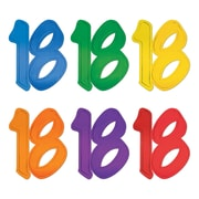 """""""18"""" Foil Silhouettes, 12"""", 24/Pack"""
