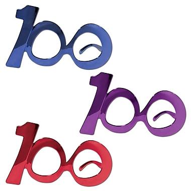Lunettes à monture de fantaisie « 100 », taille universelle, paq./6