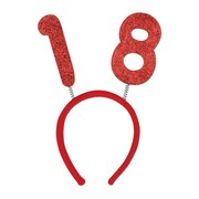 """""""18"""" Glittered Boppers, One Size Fits Most, Red, 3/Pack"""