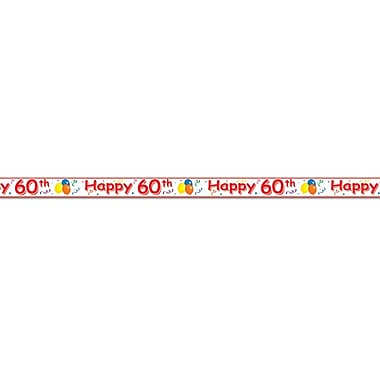 Happy 60th Party Tape, 3