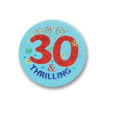30 & Thrilling Satin Button, 2