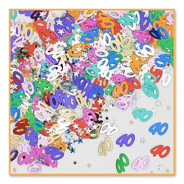 Confettis « 40 & Stars », 5/paquet