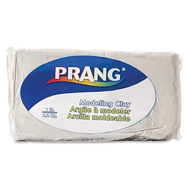Prang® Fun Modeling Clay, 1 LB, White