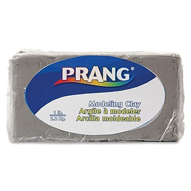 Prang® Fun Modeling Clay, 1 LB, Grey