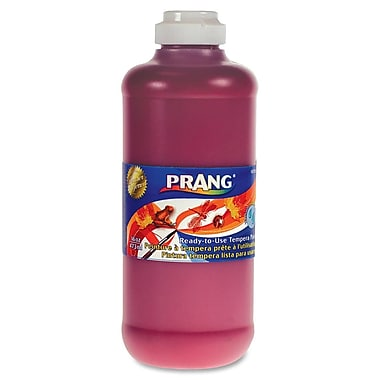 Prang® Washable Ready-To-Use Tempera Paint, 16 oz., Red