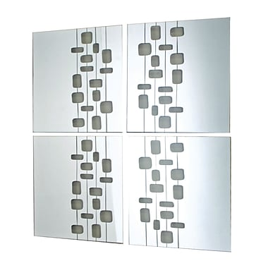 Nexxt Mosaic Mirror, 4/Set, 14