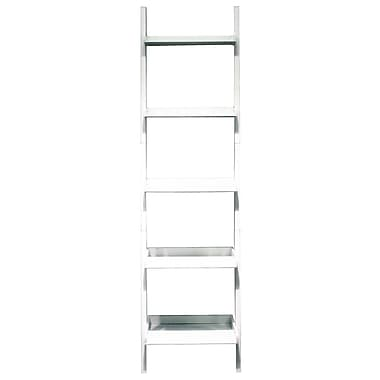 Nexxt Hadfield 5 Tier Shelf, White, 67