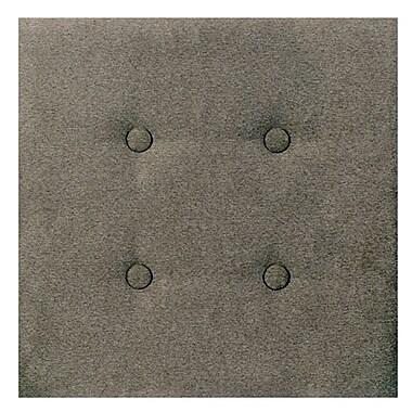 Nexxt Luxe, Upholstered Wall Panels, Tweed Grey, 8/Set, 18