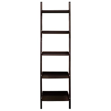 Nexxt Hadfield 5 Tier Shelf, Java, 67