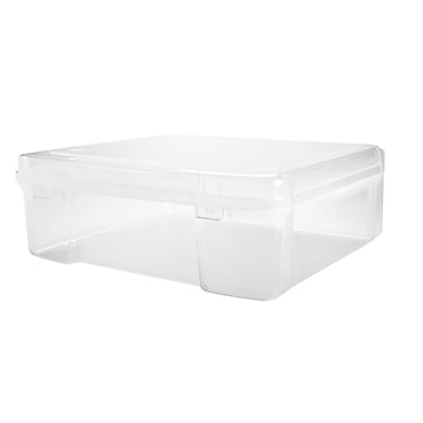 Iris 22.7 QT Large Snap Top Case, Clear