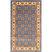 """Anglo Oriental Epic  Area Rug, 3'0"""" x 5'0"""", Blue"""