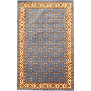"""Anglo Oriental Epic  Area Rug, 5'0"""" x 8'0"""", Blue"""