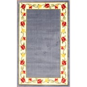 """Anglo Oriental Eternal Oval Area Rug, 3'0"""" x 5'0"""", Blue"""