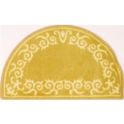 """Anglo Oriental Aristo Rounded Wedge Area Rug, 1'6"""" x 2'6"""", Rattan"""