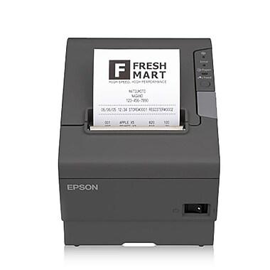 Epson® TM-T88V Thermal POS Receipt Printer, Serial and USB, Grey