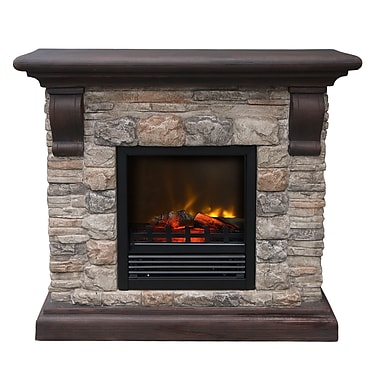Paramount Aspen Electric Fireplace Staples