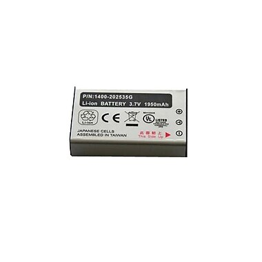 Unitech 1400-900009G 2000 mAh Lithium-Ion Handheld Rechargeable Battery
