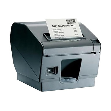 Star Micronics® TSP743IIU-24 48 RPM Monochrome Direct Thermal Printer, Gray