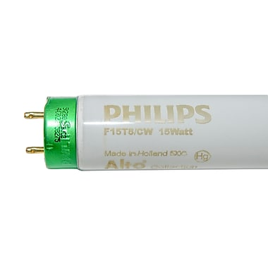 Philips 15 Watt 18in. 830 lm T8 Fluorescent Bulb, Cool White