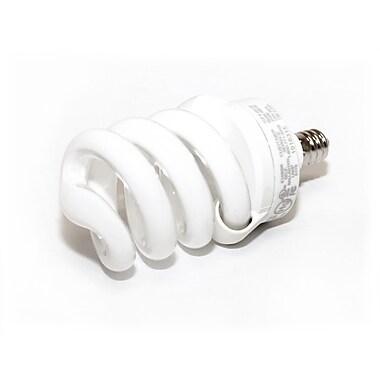 TCP SpringLamp® 13 Watt 120 Volt Spiral Candelabra CFL Bulbs, Warm White