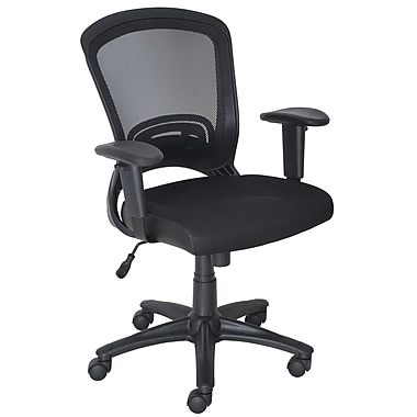 Staples Mesh Task Chair, Black