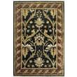 American Home Rug Co. American Home Classic Arts & Crafts Black/Burgundy Rug; 9'6'' x 13'6''