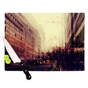 KESS InHouse London by Ingrid Beddoes Cutting Board; 0.5'' H x 11'' W x 7.5'' D